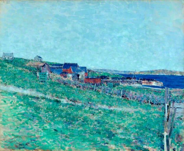 Curing Station, Whalsay, Shetlandby John Quinton Pringle