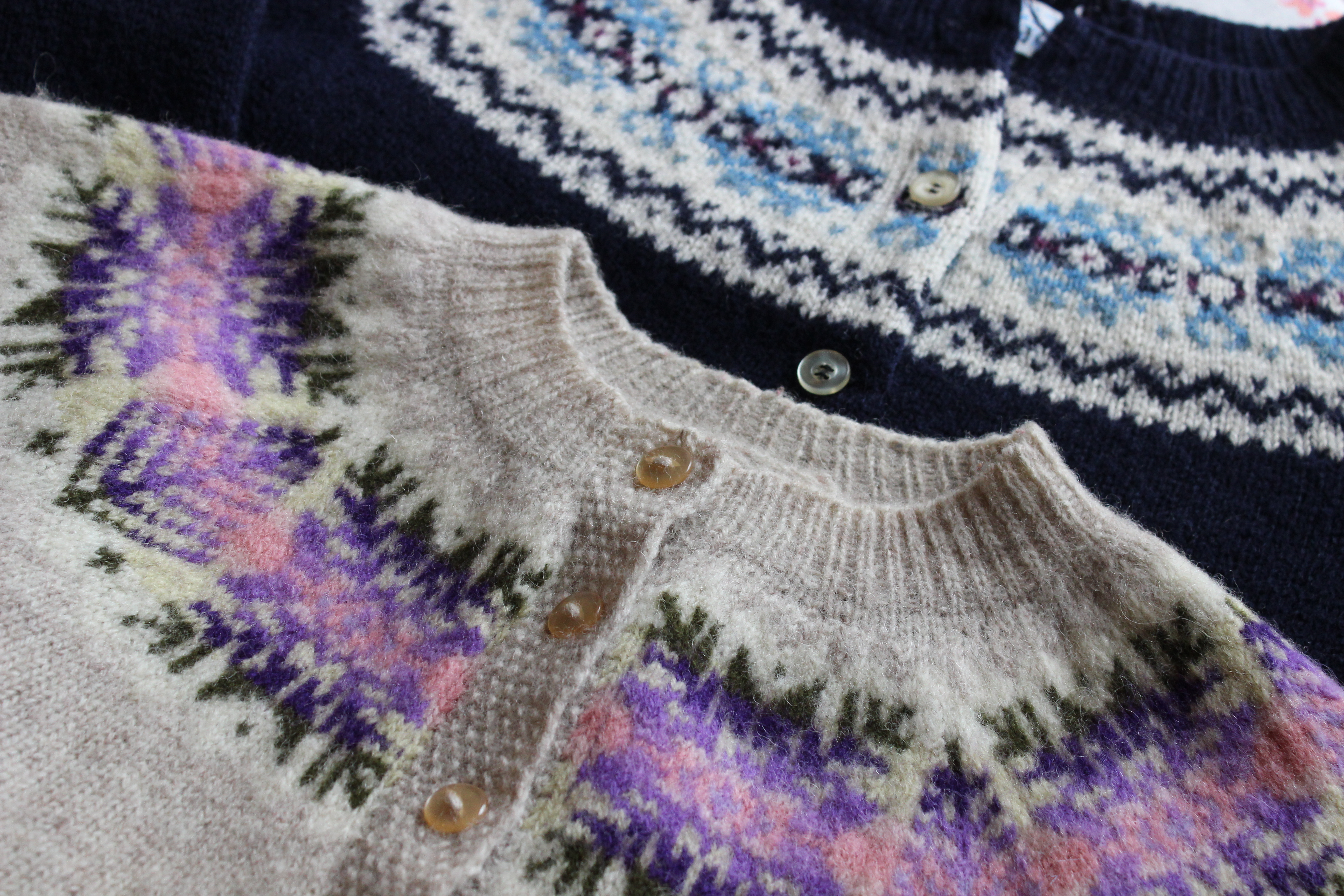 Fair isle yoke ella gordon sob although actually these two arent too bad to wear bankloansurffo Images