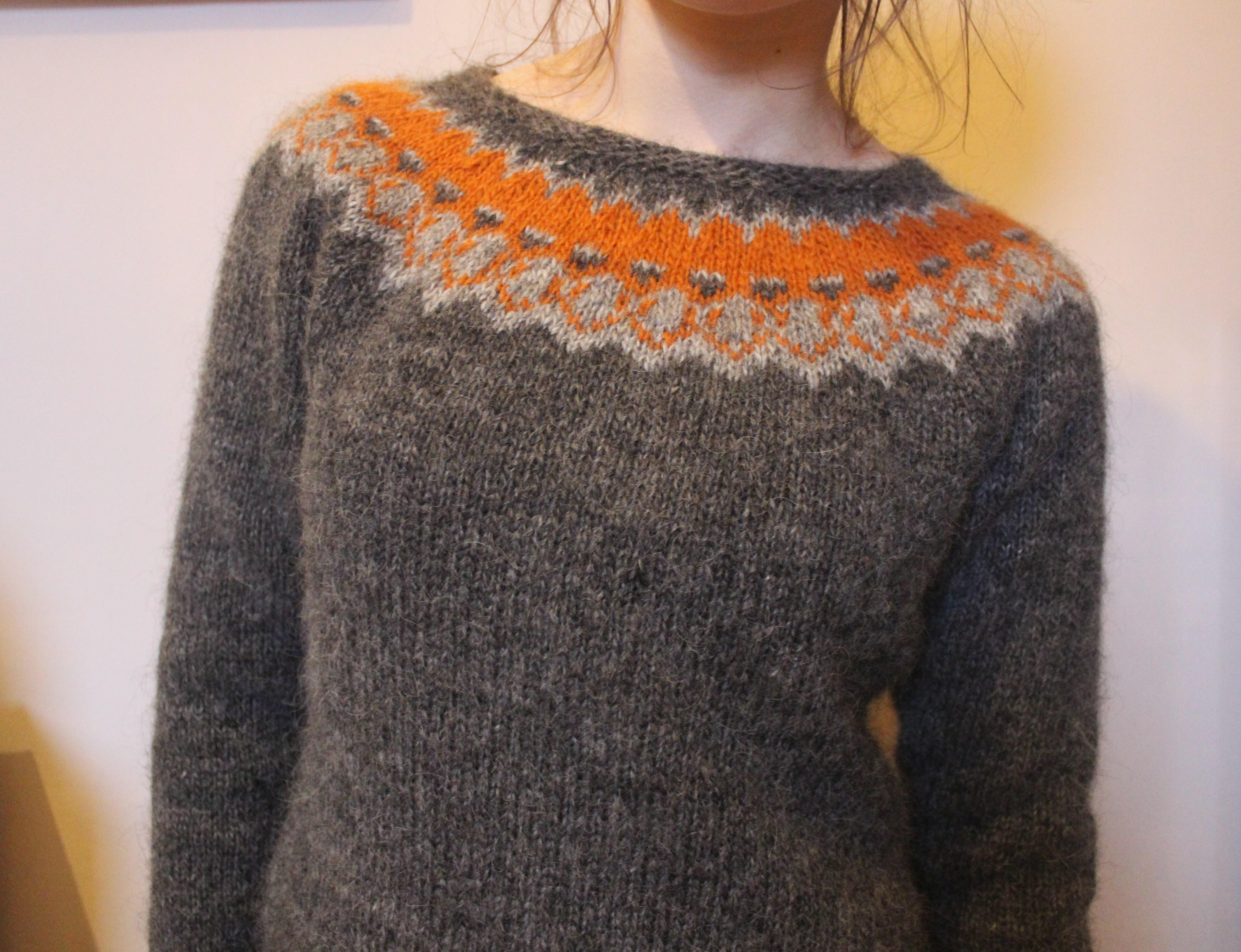 orange strokkur – ella gordon