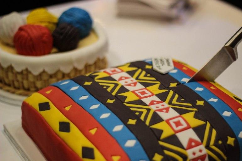 Fair Isle Cake