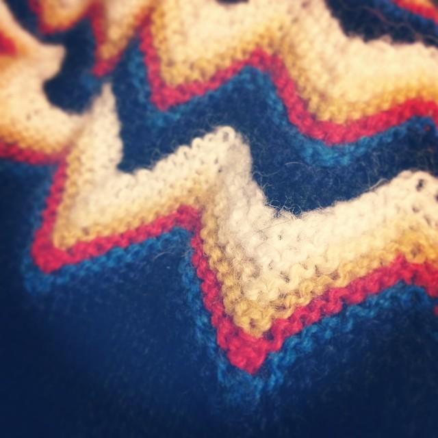 Machine Knitting For A Yoke Ella Gordon