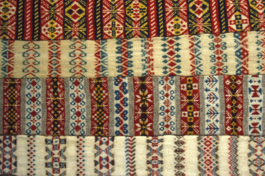Fair Isle Scarves in the Museum Collection.