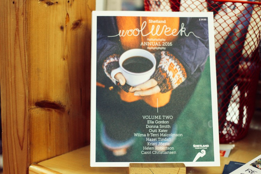 one of my favourite things about Wool Week - te Annual!